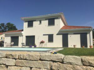 Maison tradibat à Simandres